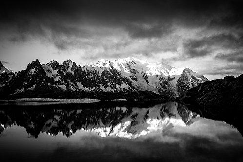 Mont-Blanc /Lac de Cheserys