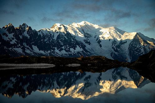 Mont-Blanc -Reflets