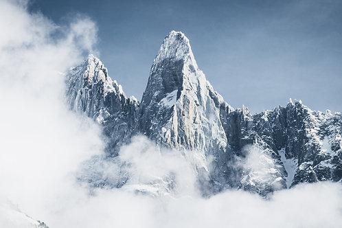 Aiguille des Drus - Glacial