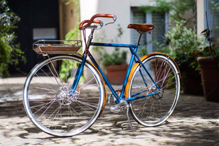 Tamboite, les vélos parigots