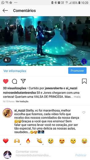 Depoimentos Stella Aguiar Instagram