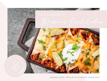 Peta's Perfect Mexican Enchiladas