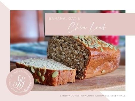 Banana, Oat & Chia Loaf
