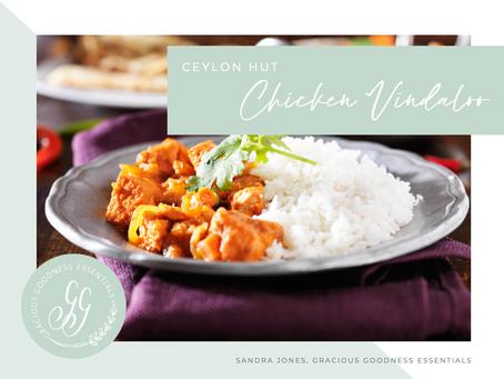 Ceylon Hut - Chicken Vindaloo