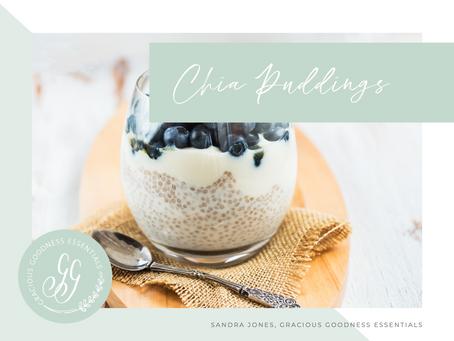 Chia Puddings