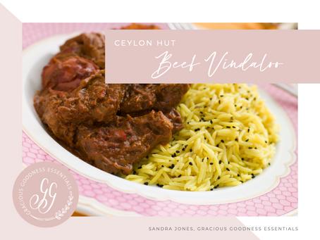 Ceylon Hut - Beef Vindaloo