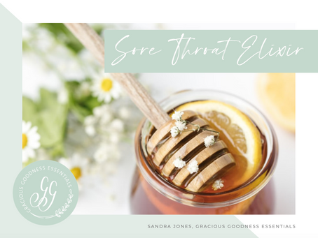Sore Throat Honey Elixir