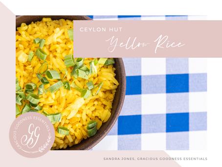 Ceylon Hut - Yellow Rice