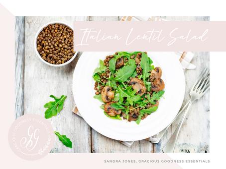 Italian Lentil Salad