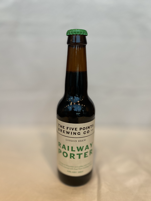 The Five Points Brewing Co- Railway Porter