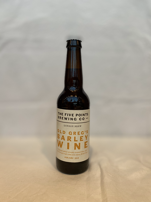The Five Points Brewing Co- Old Greg's Barley Wine