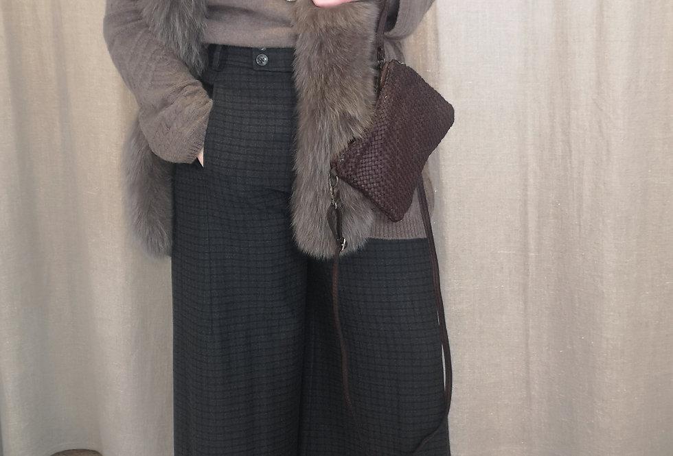 kimono col fourrure CHARMING SMILE