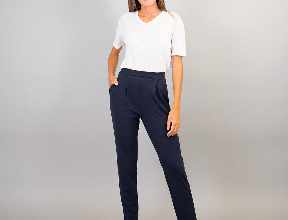 Pantalon Mirina bleu La Fée Maraboutée