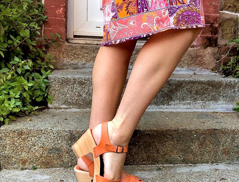Sandale SEMELLE BOIS FLEXIBLE Bosabo