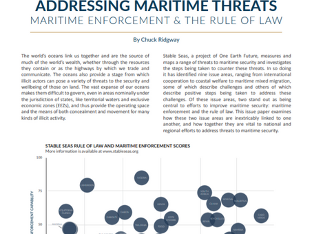Addressing Maritime Threats: Maritime Enforcement and the Rule of Law