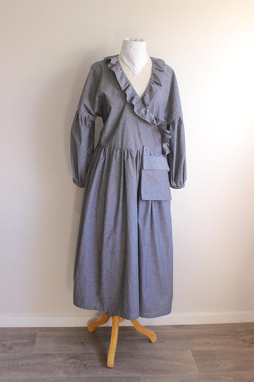The Smokey Wrap Dress