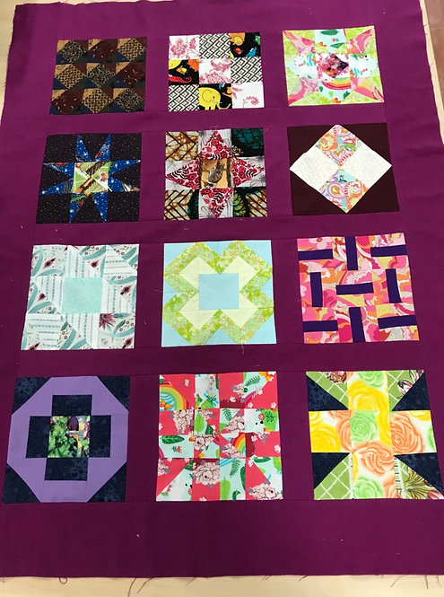 In the Blox - Covid 19 Sampler Quilt