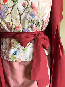 SuzziMaggs Summer Collection 20 Cotton sundress linen top