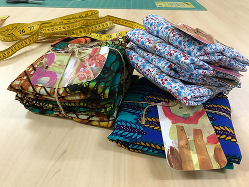 Handmade Folding Shopping Bags