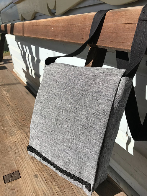 Handmade Upcycled Shoulder Bag