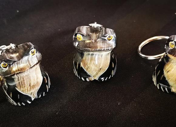 Buffalo Horn Keyring