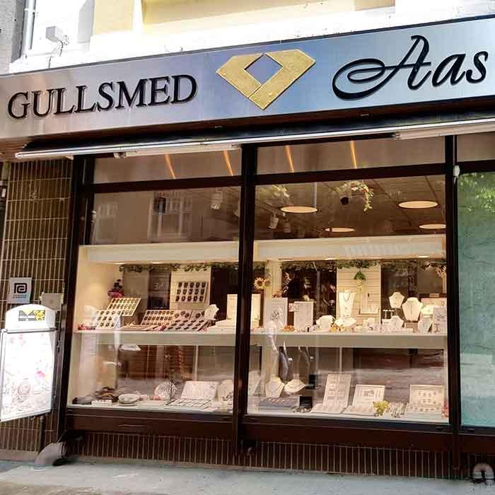 Gullsmed Aas butikk