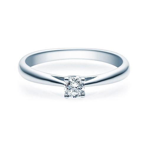 Diamantring forlovelsesring Alida 0,20 ct TW-Si i 14kt gull