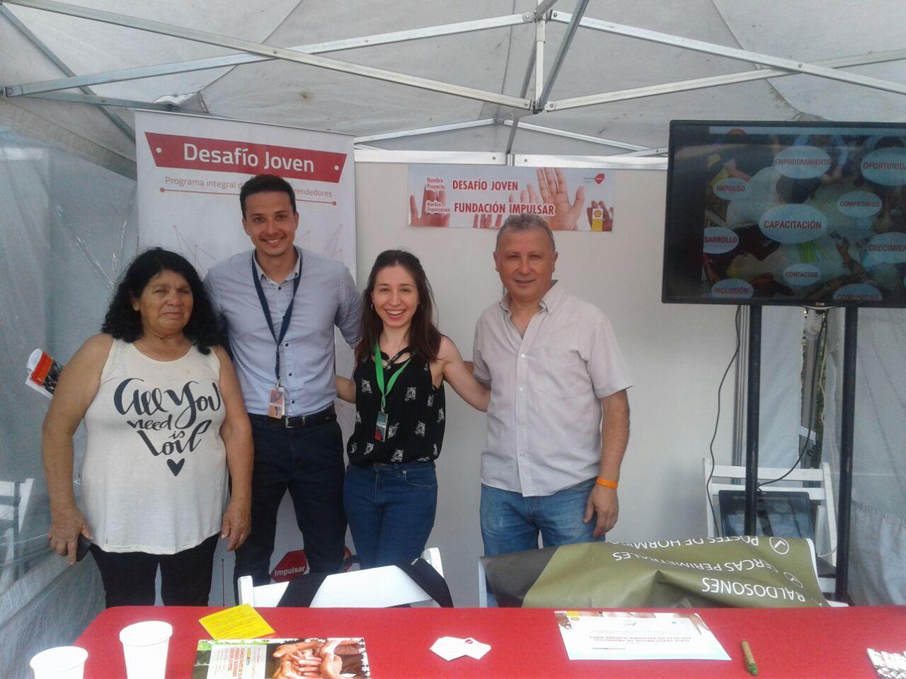 Rosa y Andrés, emprendedores