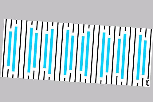 ivy stripe blue