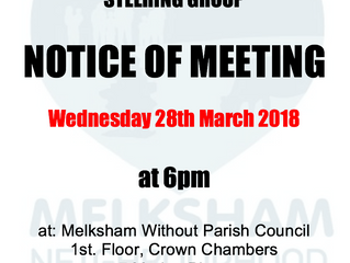 Public Meeting - March 2018