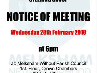 February 2018 meeting of the Steering Group