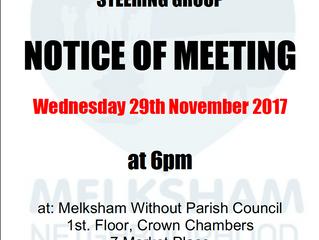 Meeting of the Steering Group 291117