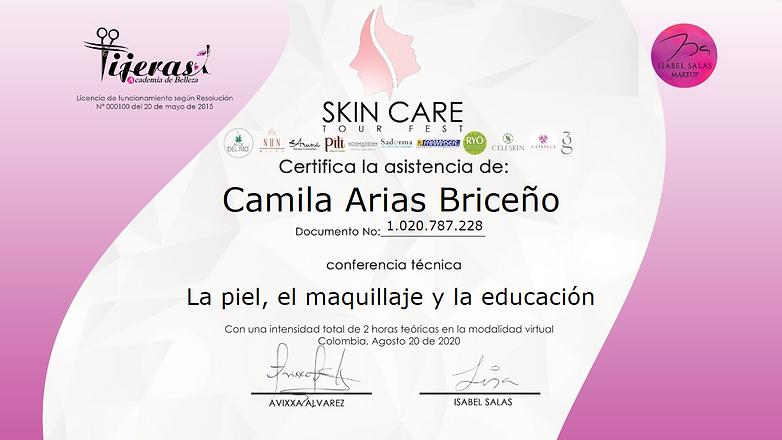 La piel, el maquillaje y la educación