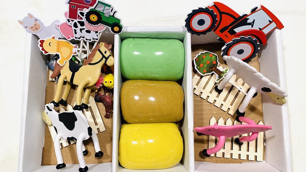 Farm Play Dough Kit