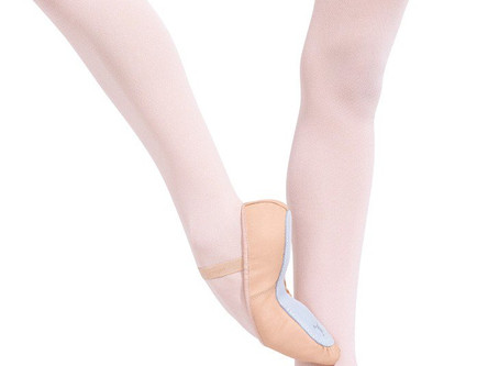 Fitting new ballet shoes correctly