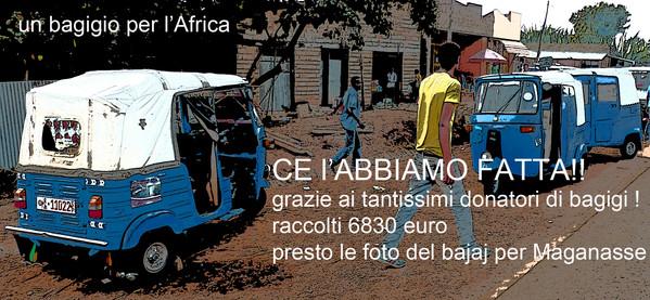 AleDima Un Bagigio per l'Africa ce l'abb