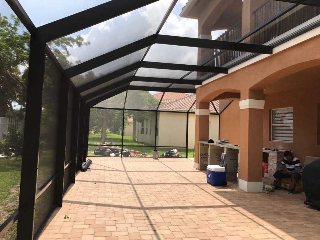 Patio Enclosure Inside