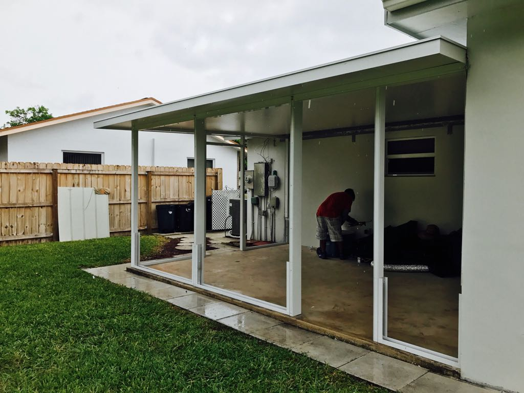 Installing the enclosure