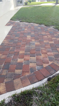 After paving