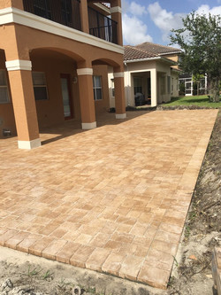 After Pavers