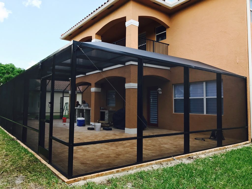 Patio Enclosure Outside
