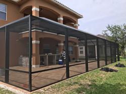 Patio Enclosure Outside