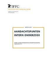 Brochure - AANDACHTSPUNTEN INTERN ONDERZ