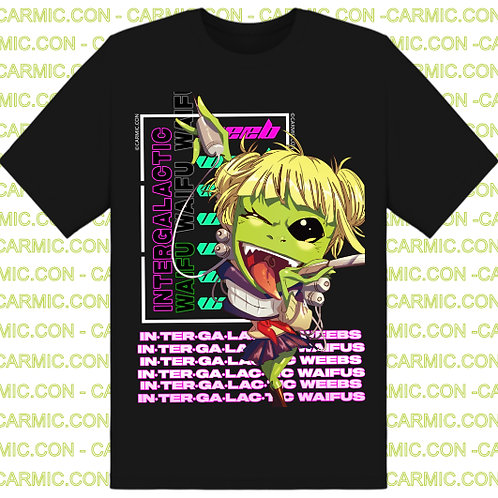 Intergalactic Waifu Shirt - Alien Waifu Cosplay As #Toga