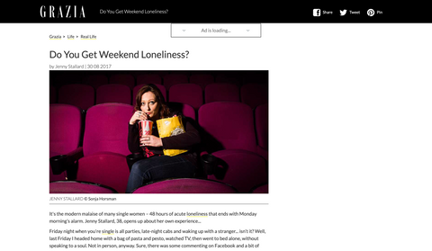 Weekend loneliness