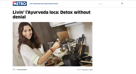 Detox without denial - interview with Jasmine Hemsley