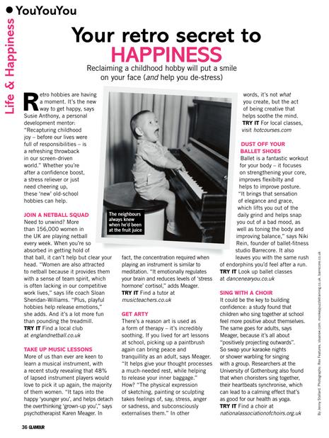 Your retro secret to happiness