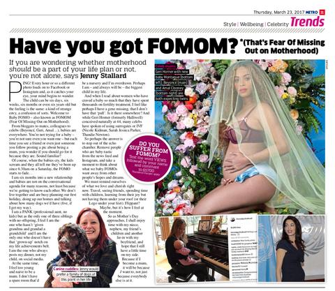 Have you got FOMOM?