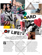 Board of life? Report on the trend of moodboards