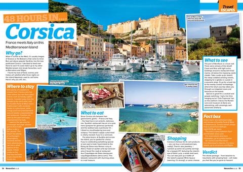 48 hours in Corsica